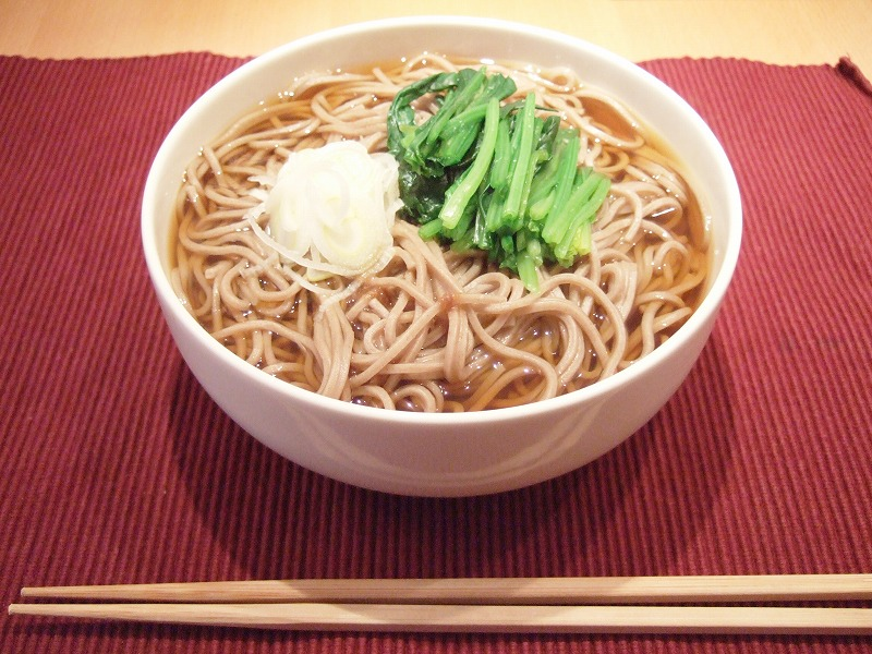 "Food Scene in the end of the year / Example of ""Toshi-Koshi Soba"""